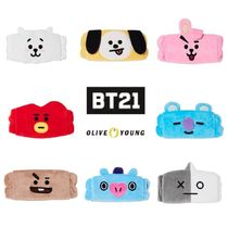 【BT21 × Olive Young】洗顔 ヘアバンド 全8キャラクター