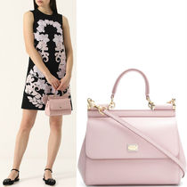 18-19AW DG1667 SICILY BAG IN DAUPHINE LEATHER SMALL