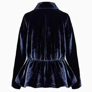 Dior キッズアウター Dior Navy Velvet Fitted Jacket 関税送料込(2)
