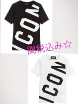 D SQUARED2(ディースクエアード) キッズ用トップス 関税込み!新DSQUARED2 ICON T-Shirt 2色