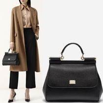 18-19AW DG1670 SICILY BAG IN DAUPHINE LEATHER MEDIUM