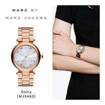 『Marc by MarcJacobs』Dotty 腕時計[MJ3483][ピンクゴールド]