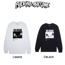 Fucking Awesome(ファッキング オウサム) Tシャツ・カットソー 【Fucking Awesome】新作☆日本未入荷☆No Brain L/S Tee
