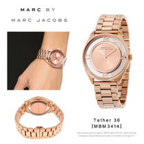 Marc by MarcJacobs Tether 36 腕時計[MBM3414][ピンクゴールド]