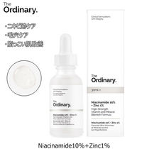 ニキビ跡・毛穴ケア♪The Ordinary■Niacinamide 10%+Zinc 1%