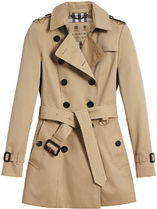 【関税負担】 BURBERRY CHELSEA SHORT TRENCH COAT