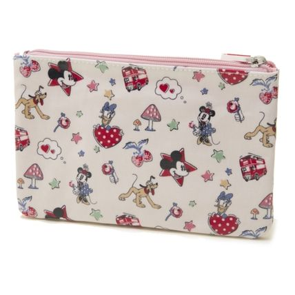 Cath Kidston メイクポーチ キャスキッドソン ポーチ 731713 Ivory Mickey  ライトピンク(3)