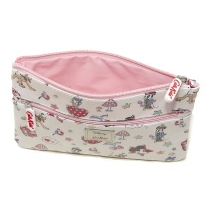 Cath Kidston メイクポーチ キャスキッドソン ポーチ 731713 Ivory Mickey  ライトピンク(4)