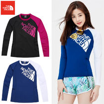 THE NORTH FACE★W 'S SUPER BIG LOGO RASH GUARD 2カラー