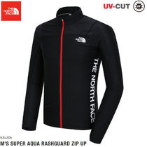 THE NORTH FACE★M 'S SUPER AQUA RASH GUARD ZIP UP-NJ5JJ03A