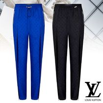 【直営店買付】Louis Vuitton PANTALON DE JOGGING FENDU