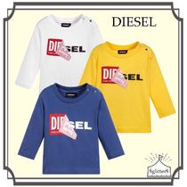 DIESEL☆Baby Cotton ロングTシャツ with Logo