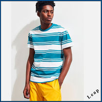 【UrbanOutfitters】先取新作! ストライプのTシャツ・Teal★