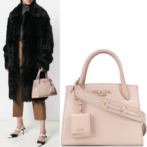 PR1164 MONOCHROME SAFFIANO LEATHER SMALL BAG
