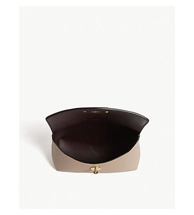 Mulberry メイクポーチ 【関税・送料ゼロ】MULBERRY レザーコスメティックポーチ(3)