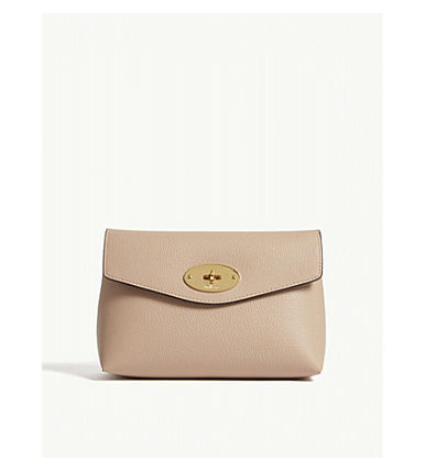 Mulberry メイクポーチ 【関税・送料ゼロ】MULBERRY レザーコスメティックポーチ(4)