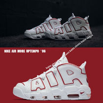 NIKE★AIR MORE UPTEMPO '96★ロゴ★WHITE/VARSITY RED
