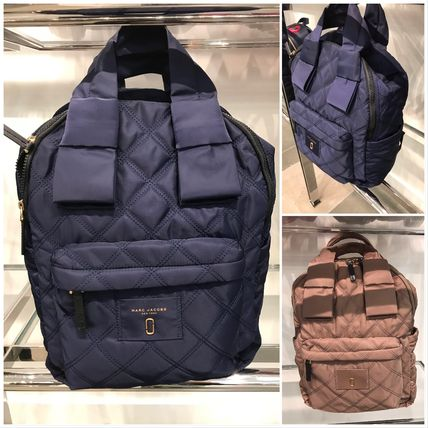 【Marc Jacobs】 Nylon Knot Large Backpack☆A4対応