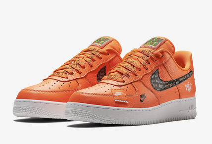 Nike スニーカー ★【NIKE】追跡 Air Force 1 Low Just Do It Pack Total Orange(2)