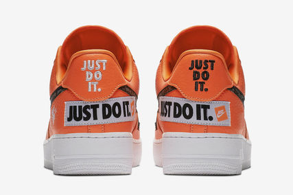 Nike スニーカー ★【NIKE】追跡 Air Force 1 Low Just Do It Pack Total Orange(3)