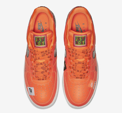Nike スニーカー ★【NIKE】追跡 Air Force 1 Low Just Do It Pack Total Orange(4)