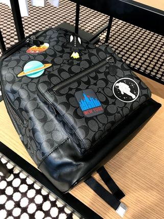 Coach バックパック・リュック 追跡有 COACH×NASA★メンズ★WEST BACKPACK*限定販売(8)