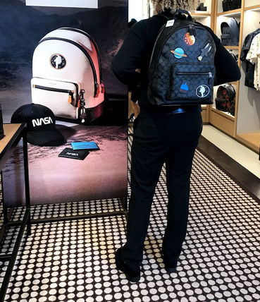 Coach バックパック・リュック 追跡有 COACH×NASA★メンズ★WEST BACKPACK*限定販売(17)