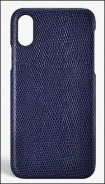 THE CASE FACTORY スマホケース・テックアクセサリー THE CASE FACTORY★IPHONE X LIZARD NAVY(2)