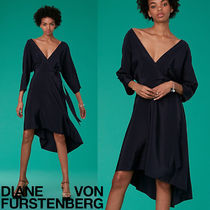 セール!DVF上級シルク♡Eloise Asymmetric Mini Dress
