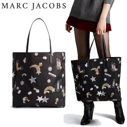 【MARC JACOBS】Tossed Charmsプリントショッピングバッグ