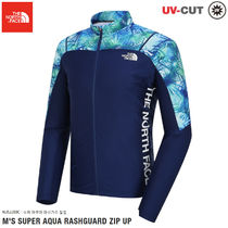 THE NORTH FACE★M 'S SUPER AQUA RASH GUARD ZIP UP-NJ5JJ03C
