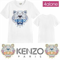 KENZO★18AW★ブルーロゴタイガーTシャツ★8Y-12Y