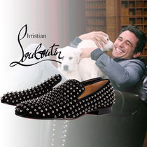 "Christian Louboutin ""Rollerboy Spikes Flat "" シューズ"