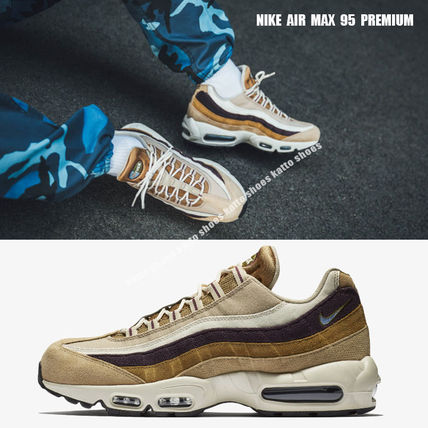 sports shoes adc6b de296 NIKE★AIR MAX 95 PREMIUM★DESERT/ROYAL TINT/CAMPRE GREEN