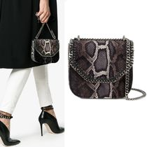【Stella McCartney】Falabella Box Crossbody パイソン柄 ミニ