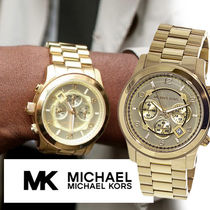 国内発☆セレブ愛用☆Michael Kors Men's Runway MK8077