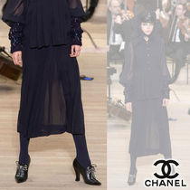 【Metiers d'art 17/18】CHANEL/クレープジョーゼットスカート