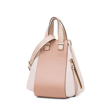 LOEWE ショルダーバッグ・ポシェット LOEWE HAMMOCK SMALL BAG BLUSH MULTITONE(2)