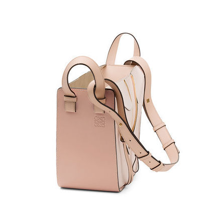 LOEWE ショルダーバッグ・ポシェット LOEWE HAMMOCK SMALL BAG BLUSH MULTITONE(4)