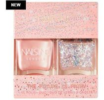Nails Inc☆限定(The Future Is Fairy Nail Polish Duo)