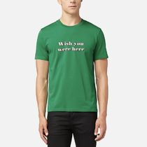 【AMI ALEXANDRE MATTIUSSI】WISH YOU WERE HERE Tシャツ