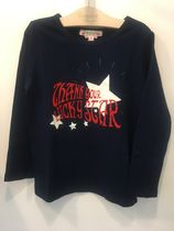 AW18 BONPOINT☆FILLE☆Tシャツmidnightblue4.6A