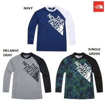 【新作】 THE NORTH FACE ★ 人気 M'S SUPER BIG LOGO RASHGUARD