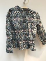 18AW【Bonpoint】June ブラウス 4A (liberty)