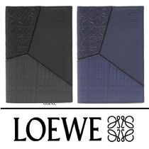2018AW【LOEWE】2色展開 PUZZLE ユニーク 上品 パスポートケース