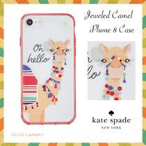 kate spade new york★Jeweled Camel iPhone 8 Case★ラクダ☆