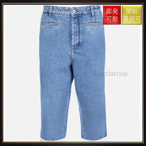 【ロエベ】Fisherman Jeans Light Blue And White