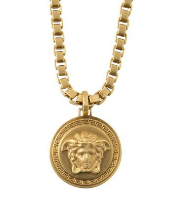 Buymagold medusa necklace oro 36967365 versace gold medusa necklace oro2 mozeypictures Image collections