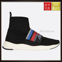 【バルマン】Cameron Lurex Mesh Sneakers Black With Multi