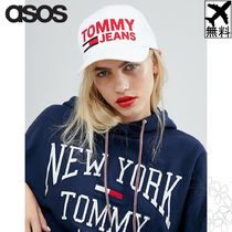 ASOS取扱☆Tommy Jeans キャップ  帽子 BIGシルエット ロゴ